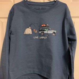 """Patagonia """"Live Simply"""" Sweater"""